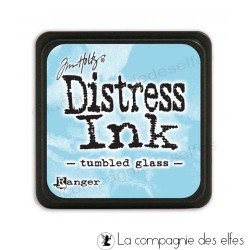 distress pad tumbled glass