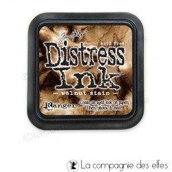 Distress couleur noix