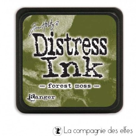 Cartes de Juin 2019. Distress-encreur-forest-moss