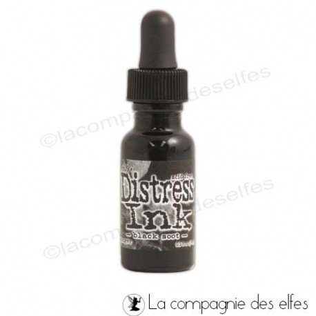 Carte 1/3 Distress-black-soot