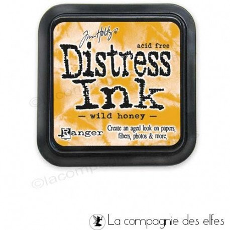 Achat distress ink orange