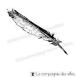 Tampon plume écriture
