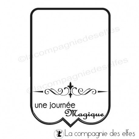 Tampon tag scrapbooking | tampon étiquette scrapbooking | étiquette scrapbooking
