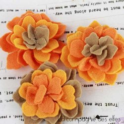 Achat fleur scrapbooking