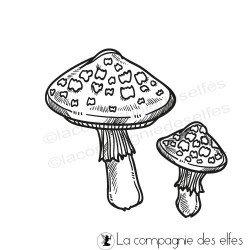 Tampon champignon amanite