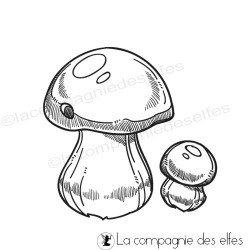 Tampon champignon bolet