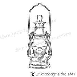 Tampon encreur lanterne