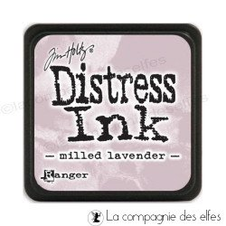 Distress milled lavender