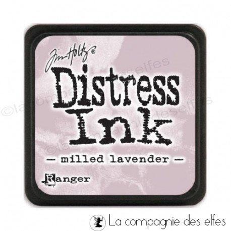 Distress milled lavender