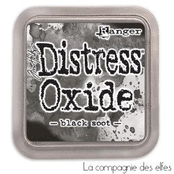Encre distress black soot oxide