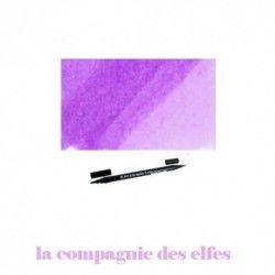 feutre aquarelle | feutre violet