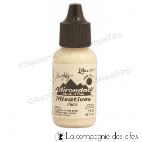 Encre alcool métallique pearl | adirondack ink