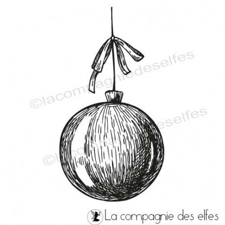 Tuto carte de voeux par Blogorel programmé le 28/11 Tampon-boule-de-noel