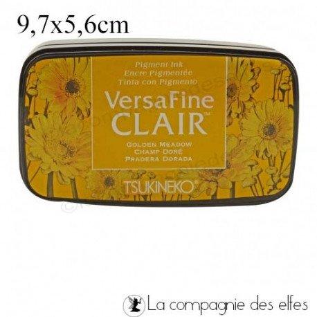 lundi 5 Avril tissu par rosarden programmé le 5 et 6 avril Encreur-versafine-golden-meadow