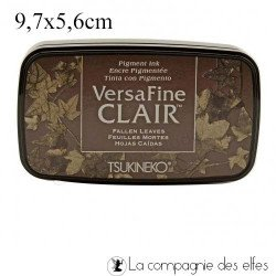 Encre versafine fallen leaves