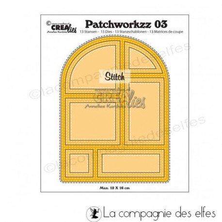 Nouveautés tampons et matériel (octobre 2018) Dies-patchwork-3