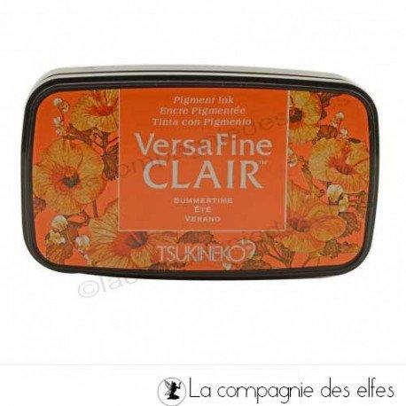 achat encre versafine clair orange | versafine summertime