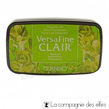 CARTE 1/3 Encre-versafine-clair-verdant