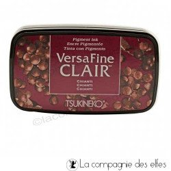 achat encre fine bordeau | versafine bordeau
