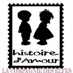 tampon scrapbooking timbre | tampon timbre amour