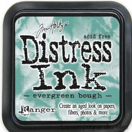 carte libre 1/3 Distress-encreur-evergreen