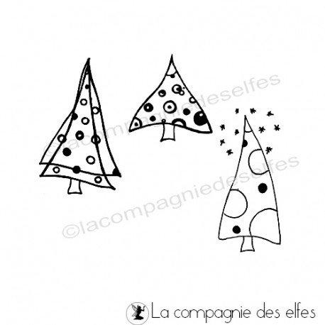 Home Déco pour Noël Les-3-sapins-de-manuela-tampons-nm