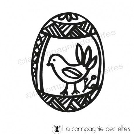 Buy easter egg stamp   acheter oeuf de paques