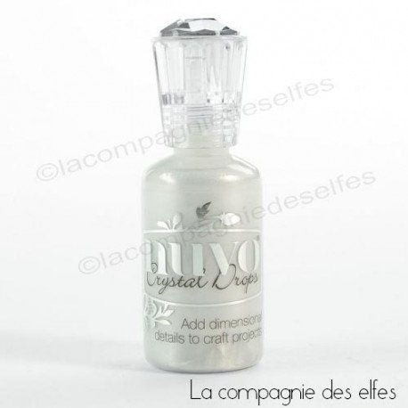 Glitter drop Tonic Studio | achat drop seashell