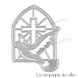 Dies croix colombe