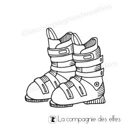 Tampon chaussure ski