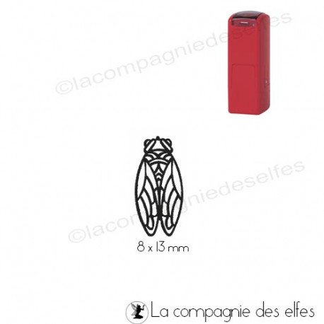 Tampon encreur cigale | tampon automatique trodat