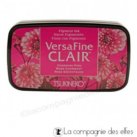 lundi 5 Avril tissu par rosarden programmé le 5 et 6 avril Encre-versafine-clair-charming-pink