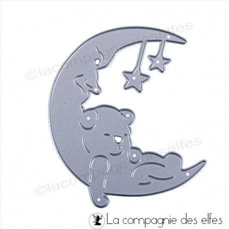 Cartes créatives Janvier 2019 Dies-ours-sur-lune