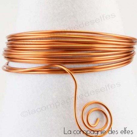 Achat fil alu | aluminium cuivre orange