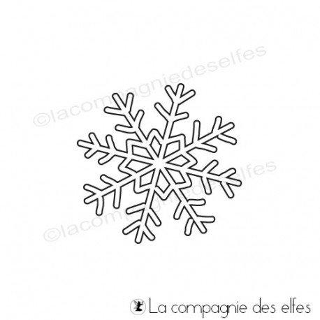sketch page le 11 Novembre Tampon-encreur-cristal-neige