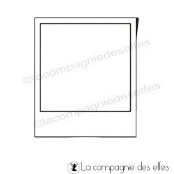 Tampon polaroid | polaroid stamp