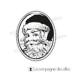 Tampon encreur de Noel | cachet noel