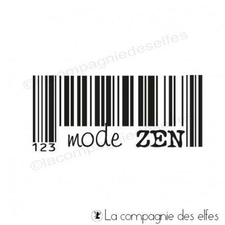cachet mode zen | achat timbre zen