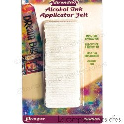 feutrine pour encre alcool | tim holtz ranger