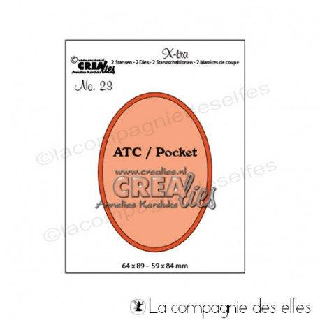 ATC ANIMAUX 1/3 Dies-atc-oval