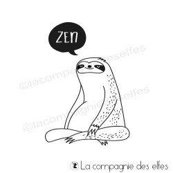 Tampon encreur paresseux zen