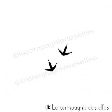 Bird print stamp | acheter tampon oiseau