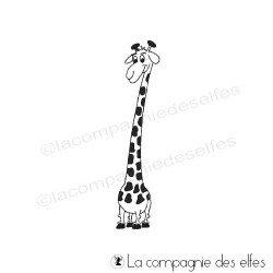 Tampon girafe | giraffe rubber stamp
