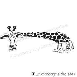 Achat tampon scrap girafe