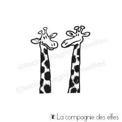 têtes de girafes tampon nm
