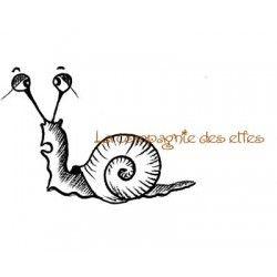Pétunia l'escargot - tampon nm