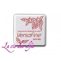 encre VERSAFINE satin RED rouge pM