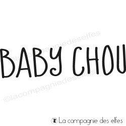 Tampon baby chou