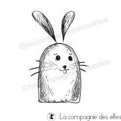 Tampon lapin de Pâques