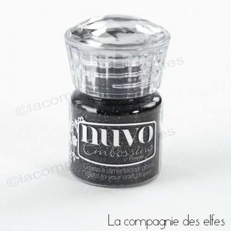 Nuvo embossing powder | achat poudre glitter embossage